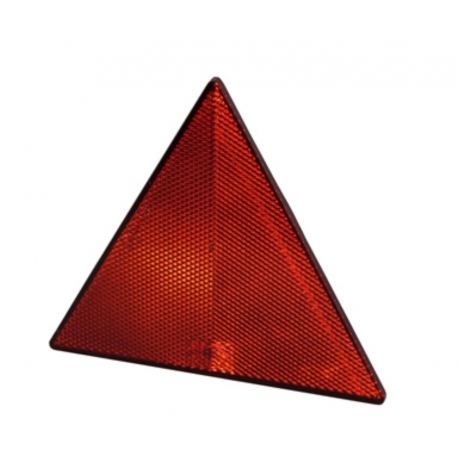 Triangelreflex röd, 155x133x7 mm