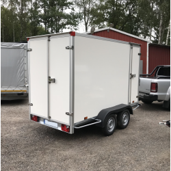 PowerTrailer 307x157x188, 750 kg boggi