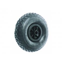 Luftgummihjul 260x85 - iØ 20/75 mm plastfälg