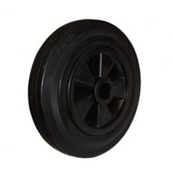 Massivgummihjul 160x40 - iØ 20/58 mm
