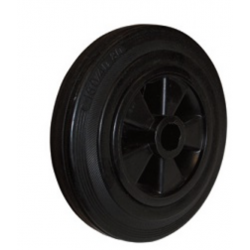 Massivgummihjul 160x40 - iØ 20/42 mm
