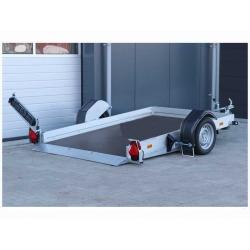 Humbaur sänkbart Skoter/MC-släp 250x157x15cm 1300kg