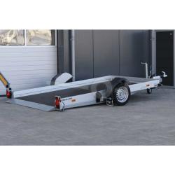 Humbaur sänkbart Skoter/MC-släp 280x177x15cm 1300kg