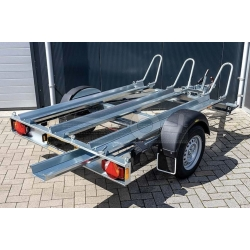 Humbaur 209x136x0cm, 750kg, Obromsad