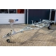Kalf Trailers, 550x170cm, Obromsad, 750kg, tippbar