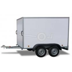 PowerTrailer 252x150x150cm, 750 kg boggi