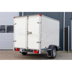 PowerTrailer 257x157x188cm, 1000 kg