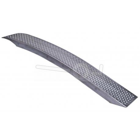 Böjd universal aluminium-ramp, 200x26cm