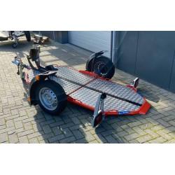 Cochet Uno, 200x100cm, Obromsad, 500kg, Lasthöjd 45cm, Orange
