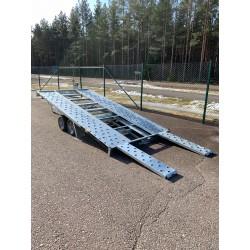 Martz Bil Trailer 406x200cm 2700kg Tippbar