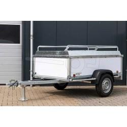 Power Trailer 250x132x60cm, 750kg, obromsad